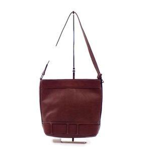 Clarks Shelina Maelle Brown Vegan Shoulder Bag